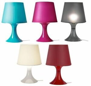 ikea stylish lampan table lamp turquoise pink black white or red same next dp ebay. Black Bedroom Furniture Sets. Home Design Ideas