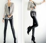 Womens Leather Leggings