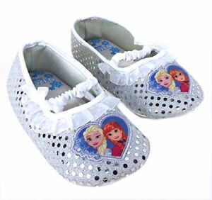 Like New Frozen Slippers Size 11-12 Toddler - $3