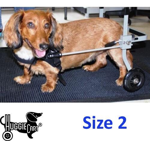 Huggiecart Dog Wheelchair,refurbished, Size 2, 10-21 lbs dogs , fast shipping