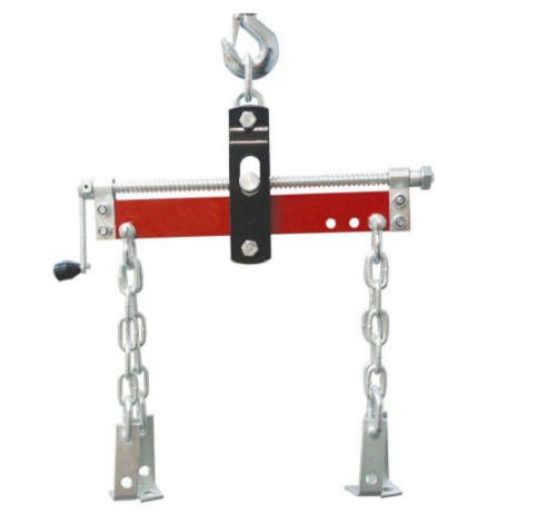 Engine hoist leveler load lift automotive shop supply for Motor lift for sale