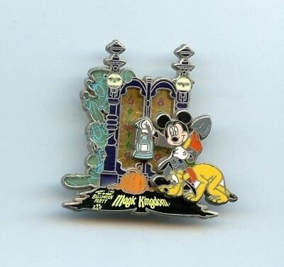 Disney Not So Scary Halloween Party Mickey Pluto Donald Haunted Mansion LE Pin](Disney Scary Halloween Party)