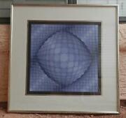Vasarely Signed