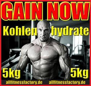 (3,78EUR /kg) GAINER 5kg Kohlenhydrate Maltodextrin 19 Muskelaufbau WOW!