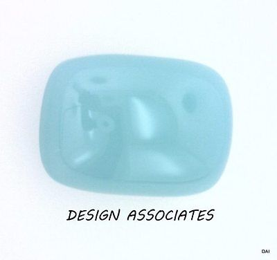 AQUA  BLUE CHALCEDONY 10X8 MM CUSHION CUT OUTSTANDING BLUE COLOR