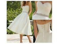 Vintage ivory wedding dress size 8