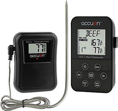 Accuon Wireless Digital Thermometer Set - Remote BBQ / Smoker / Grill / -