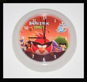 Angry Birds Clock