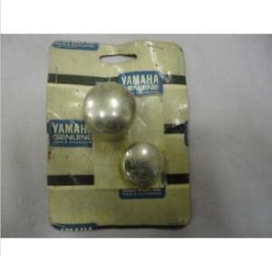 YAMAHA BILLET REAR AXLE BOLT COVERS#ABA-3CF27-05-01