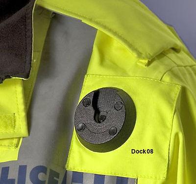 DOCK08 Klick-Fast Screw on Garment Dock  for Ambulance Paramedic PCSO Police