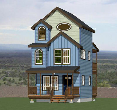 16X16 Tiny House    2 Bedroom    697 Sqft    Pdf Floor Plan    Model 20