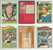 Topps Football Cards 1970s