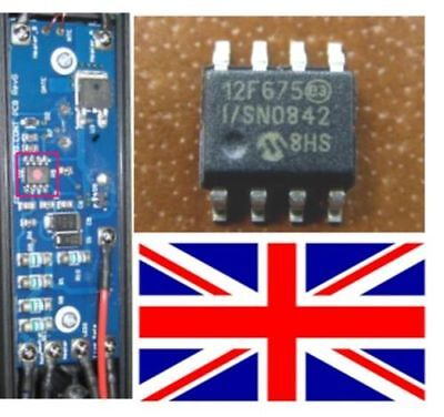 New GHD genuine 12f675 IC for 4.0, 4.1 and 4.2 (MK 5 read notes) Repairs PCB