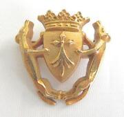 Cross Crown Pin