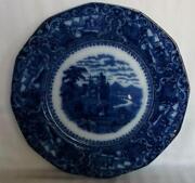 Flow Blue Watteau