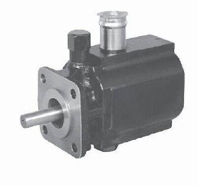 Hydraulic Two 2 Stage Gear Pump 16 Gpm Hi Lo Low Log Splitter Full Cast Iron Cw