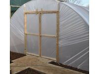 BRAND NEW 14FT X 30FT STRAIGHT SIDED HEAVY DUTY POLYTUNNEL KIT
