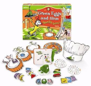 Green eggs and ham speedy dinner game $48