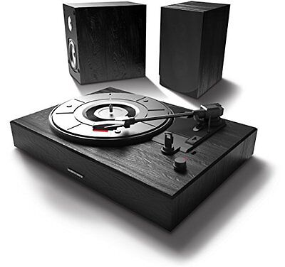 Bluetooth Speaker & Turntable Record Player 2 Speakers Sound System Home Theater