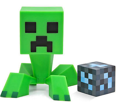 Authentique Minecraft Creeper Vinyle 15.2cm Jouet Figurine avec Diamant Bloque