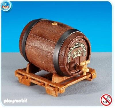 Playmobil 6218 Großes Bierfass Knights castle Barrel Oldtimer NEW 163