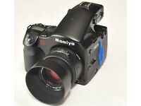 REDUCED!! Mamiya 645 AFD kit + back + 80mm lens and film rolls