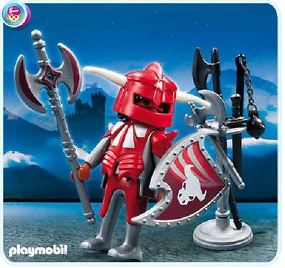 Playmobil 4763 RED Castle Knight with Armory NEW