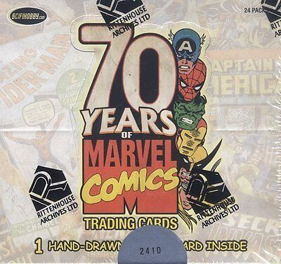 Rittenhouse Marvel 70th Anniversary Box