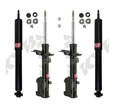 KYB 4 STRUTS SHOCKS FORD MUSTANG 2011 to 2014 11 12 13 14 335623 349026