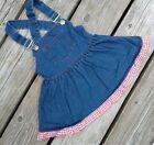 Girls 12 Months Blue Vintage Dresses for Girls