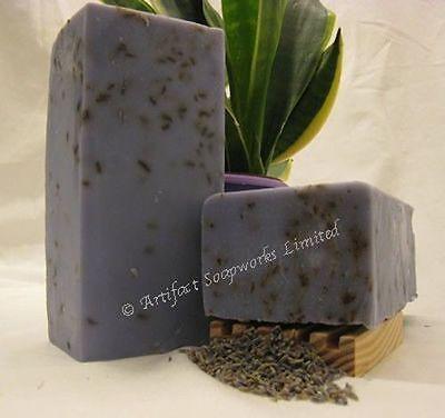 - Handmade Soap Loaf - French Lavender Shea Olive Oil - Vegan