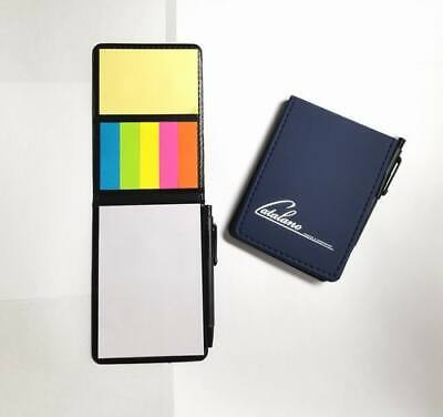 Lot Of 24 Sets - Misprint Nifty Sticky Note Caddy With Pen Sets