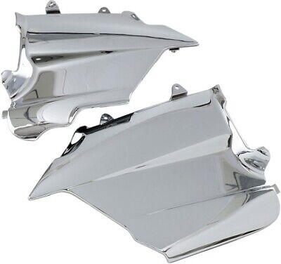 Chrome Lower Engine Side Covers (Show Chrome Engine Side Covers Lower for Honda GL1500 Gold Wing 1988-2000)