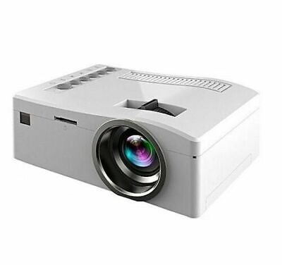"""LED Projector - """"Time to Play, Time to Enjoy"""" Mini LED Projector - White"""