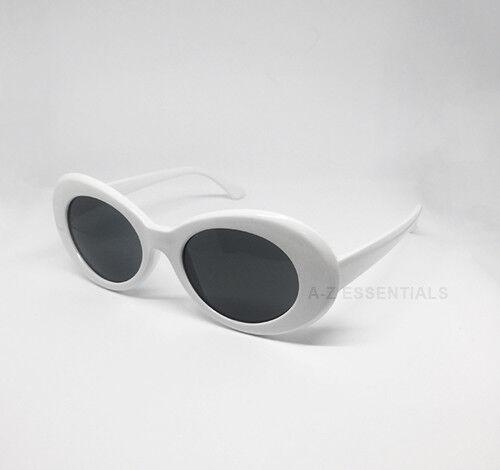 Мужские солнцезащитные очки Kurt Cobain clout goggles oval sunglasses -  white - 272813396401 - купить на eBay.com (США) с доставкой в Украину  8745ad224beec