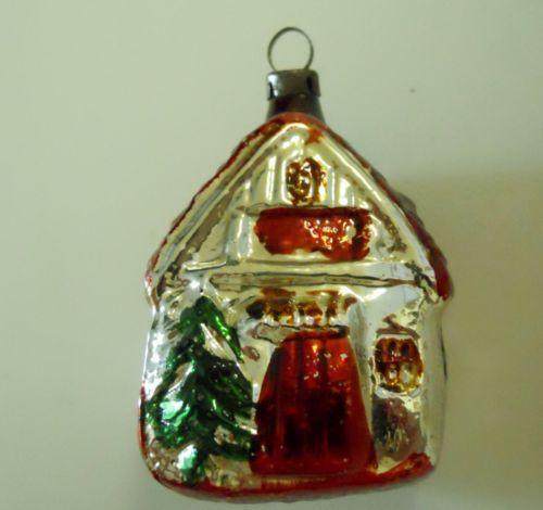 Antique Mercury Glass Ornaments Ebay