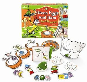 Dr. Suess Green Eggs & Ham Speedy Diner Game London Ontario image 1