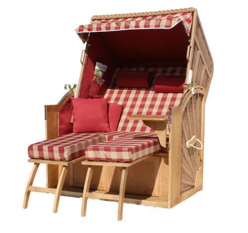 strandkorb 160cm ebay. Black Bedroom Furniture Sets. Home Design Ideas