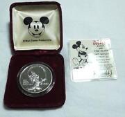 Mickey Mouse Silver Coin