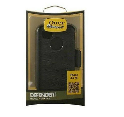 Otterbox Rugged Defender Case W/ Holster Clip For Apple I...