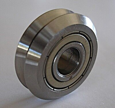 Lot Of 16 V-groove Bearing Cnc 38