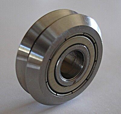 Lot Of 16 V-groove Bearing Cnc 38