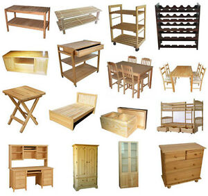 WANTED - Broken or unwanted WOOD furniture