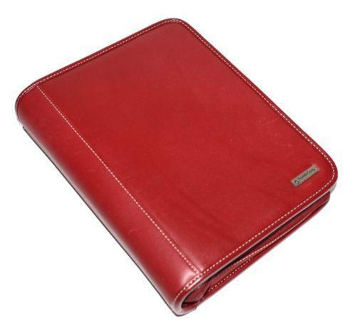 Franklin Covey Planner Red
