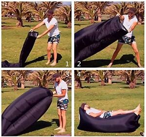 Newest Fast Inflatable Sleeping Bag Lamzac Hangout