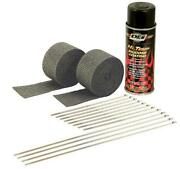 Exhaust Heat Wrap Black