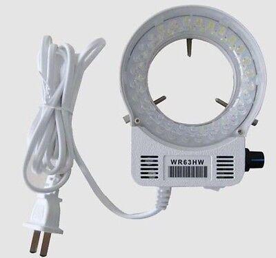 New 56 White Led Ring Light Illuminator For Meiji Emz Emz5 Microscope Wr63hw