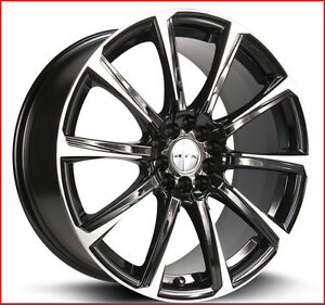 Roues (Mags) RTX Blade 17 X 7.5  pouces 5-108/114.3