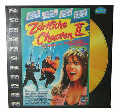 Laserdisc LD - Zärtliche Chaoten II - CD Video Film mit Thomas Gottschalk NEU