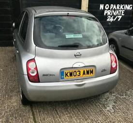Nissan micra 2003 very low mileage £600